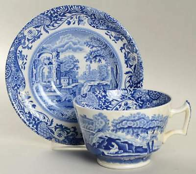Spode BLUE ITALIAN Oversized Cup & Saucer 675386