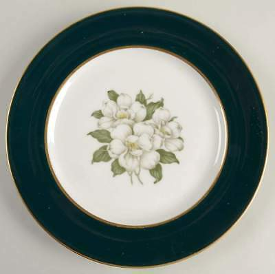 Royal Jackson COUNTESS MADISON TEAL GREEN Salad Plate 624177