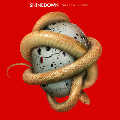 Threat To Survival - Shinedown CD Sealed ! New !