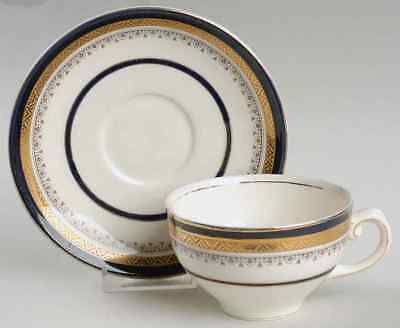Myott Staffordshire THE CROWNING COBALT Cup & Saucer 409168