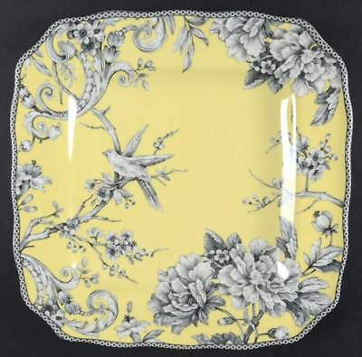 222 Fifth ADELAIDE YELLOW Square Dinner Plate 9437393