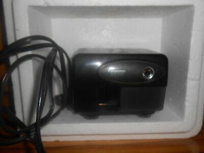 Electric Pencil Sharpener Panasonic Black KP-310 Auto-Stop