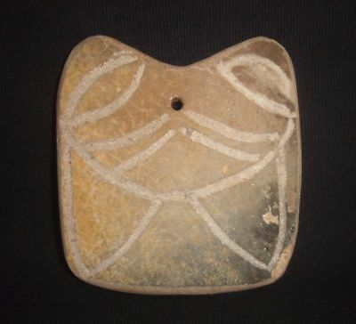 Ancient Philippines Zoomorphic Earthenware Pendant / Amulet Artifact (B)