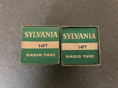 SYLVANIA 6V6G VT-107 Mil-Spec Tubes, Matched Quad, NOS, Tested