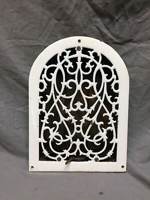 Antique Porcelain Cast Iron Rare Heat Heat Grate Wall Register 8X12 268-18C