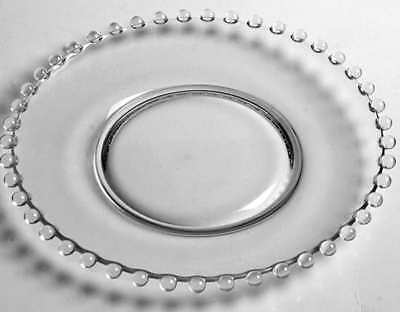Imperial Glass Ohio CANDLEWICK CLEAR (STEM #3400) Salad Plate S1676130G3