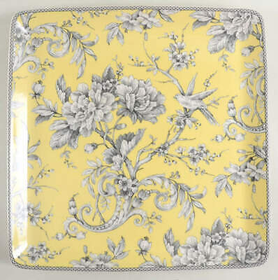 222 Fifth ADELAIDE YELLOW Square Platter 10114779