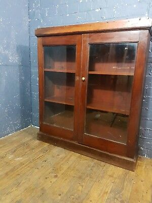 Victorian Mahogany 2 Door Bookcase could be wall mounted kitchen can deliver