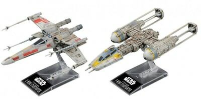 Bandai Hobby Star Wars 1/144 Plastic Model X-Wing & Y-Wing Starfighter Star Wars