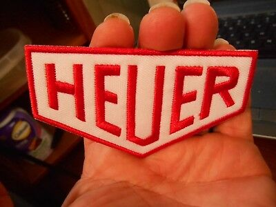 HEUER Oil Iron on Patch (Gulf Oil)