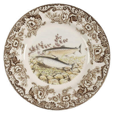 Spode WOODLAND Pacific Salmon Dinner Plate 7921906