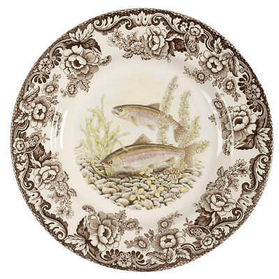 Spode WOODLAND Rainbow Trout Dinner Plate 7921908