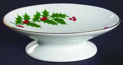 All The Trimmings CHRISTMAS HOLLY (PORCELAIN) Soap Dish 6722643
