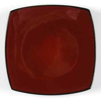 Gibson Designs SOHO LOUNGE-RED Salad Plate 7681427