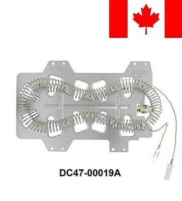 DC47-00019A Dryer Heating Element for Samsung Maytag Whirlpool 35001247 AP420...