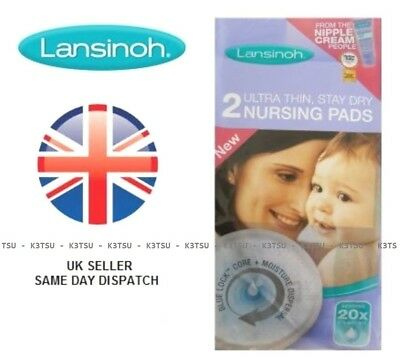 Lansinoh Stay Dry Disposable Breast Pads Natural Breathable Maternity Baby Care