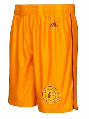 7568388ae Outerstuff Indiana Pacers NBA Youth Hardwood Classics Swingman Shorts Gold