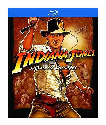 New Indiana Jones Complete Adventures [Blu-ray] Japan Import Free Shipping