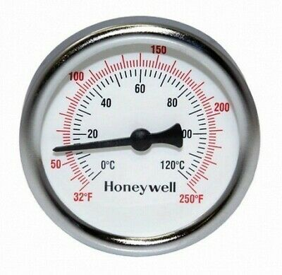 Honeywell GT162 Dial Thermometer, 1/2 inch NPT