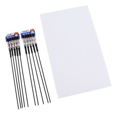 Painting Stand Base & Alligator Clip Stick Set Modeling Tool for Hobby Craft