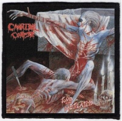 Cannibal Corpse Tomb Of The Mutilated Printed Patch C041P Suffocation Morbid Ang