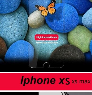 Tempered Glass Screen Protector For Apple iPhone X  MaX -100% Genuine Uk