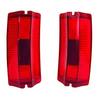 65 El Camino Tail Lamp / Light Lens - Pair