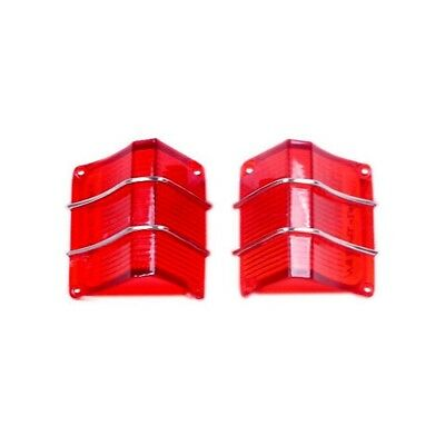 67 El Camino Tail Lamp / Light Lens - Pair