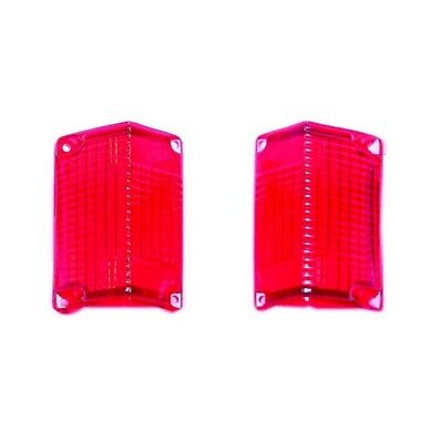 68 - 69 El Camino Tail Lamp / Light Lens - Pair