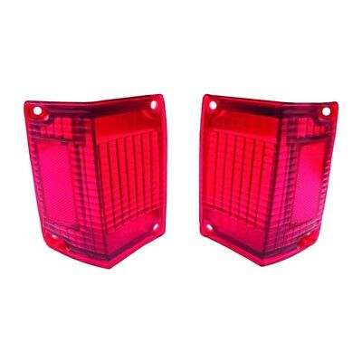 70 - 72 El Camino Tail Lamp / Light Lens - Pair
