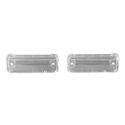 68 El Camino Back Up Lamp / Light Lens - Pair