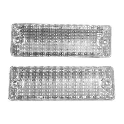 69 - 72 El Camino Back Up Lamp / Light Lens - Pair