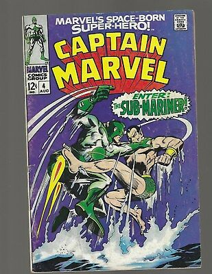 Captain Marvel #4 Sub-Mariner