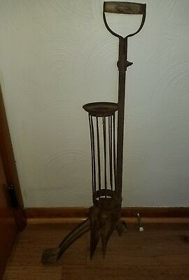 Old Vintage Garden Bulb / Potato Planter ~ Primitive Rustic Farm Tool Decor