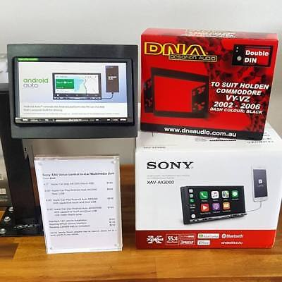 Sony Apple Car Play/Android Auto Pack for VY/VZ Commodore