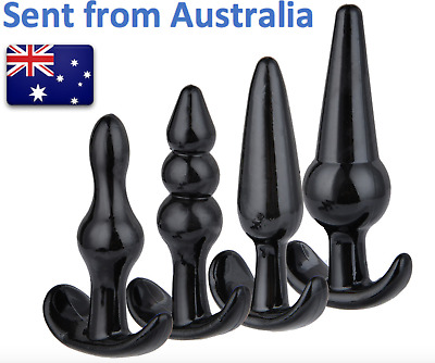 Silicone anal plugs/butt plugs - variety of sizes and styles FREE SHIPPING C2