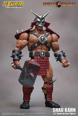 *NEW* Mortal Kombat: Shao Kahn 1/12 Scale Action Figure by Storm Collectibles