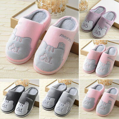 2aef2c06288 New Cute Cozy Cat Paw Slippers Men Women Home Warm Winter Slippers Indoor  Shoes
