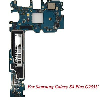 MOTHERBOARD LOGIC BOARD Clean IMEI 64GB For Samsung Galaxy S8 plus G955U