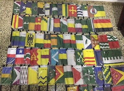 Flags Of Pr Token & Patch...set Of The 78 Flags Of All The Cities Of Puerto Rico
