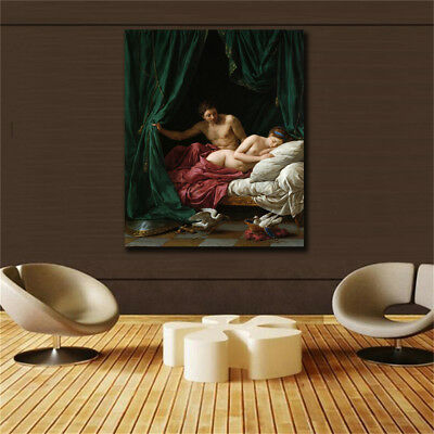 "Court oil painting""Passion"" HD print on canvas huge wall picture"