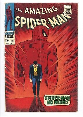 Amazing Spider-Man #50 Vol 1 Nice Lower Grade 1st Appearance of the Kingpin