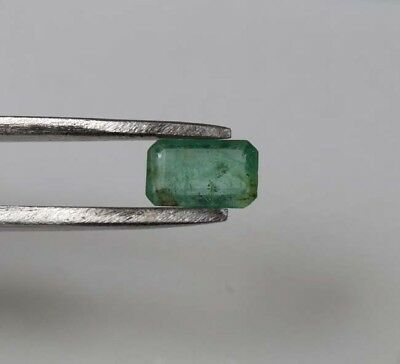 0.70 Cts. Zambian Emerald 100 % Natural Octagon Cut [7*4.5*2.5mm] Loose Gemstone