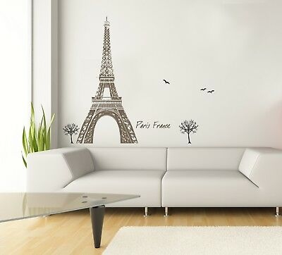 Sticker for wall - Wandtatoos for nursery, living room, bedroom - Eiffel Tour