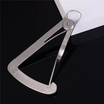 stainless Steel Autoclavable Caliper Dental Surgical Dentist Lab Dental RulerNTH