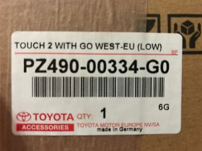 Toyota Touch and Go 2 Navigation Modul Neuware incl GPS Antenne