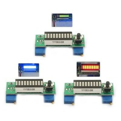 LM3914 3.7V Lithium Battery Capacity Indicator Module Tester LED Display Board