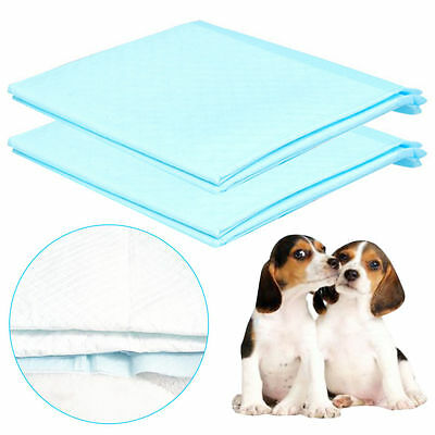 Cheap 150 60X45CM LARGE PUPPY TRAINING TRAIN PAD TOILET PEE WEE MATS PET DOG CAT