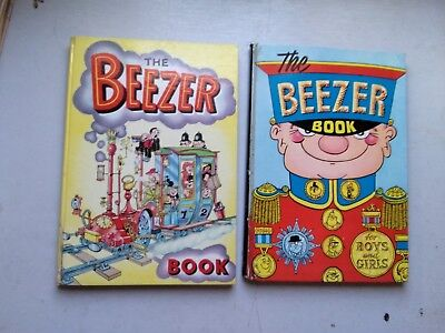 Beezer Books 1962 And 1964