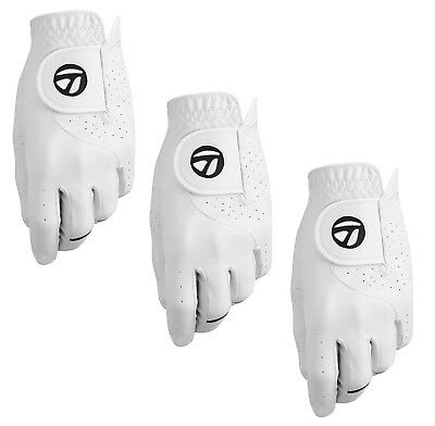 Taylormade Stratus Tech Mens Golf Glove (3 Pack) -New 2018- Pick Hand & Size